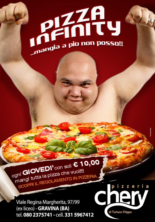 Pizza infinity