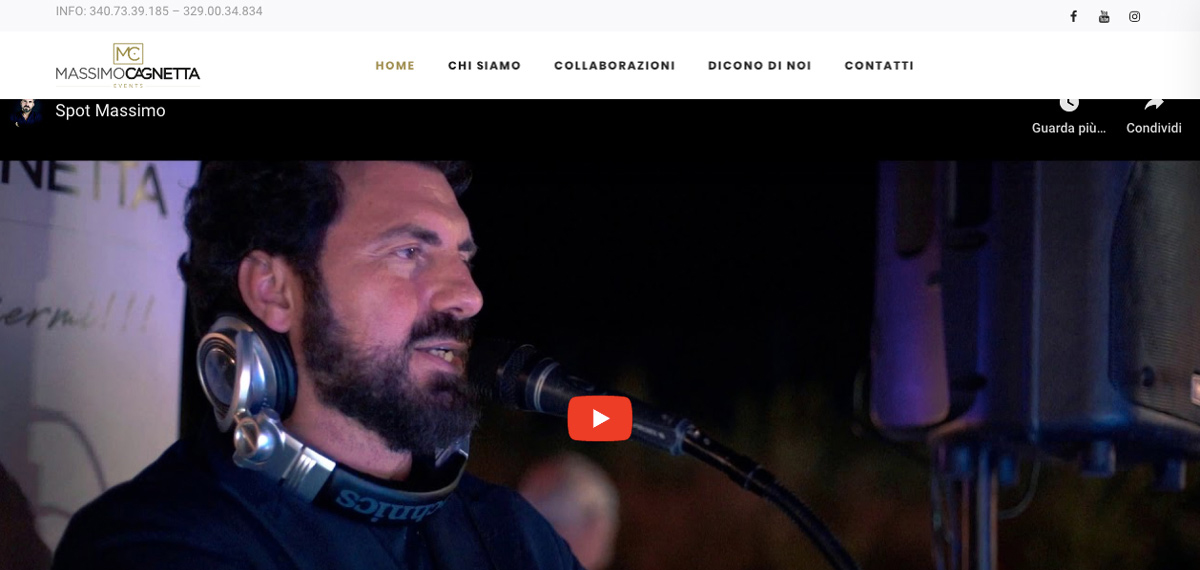 Massimo Cagnetta web