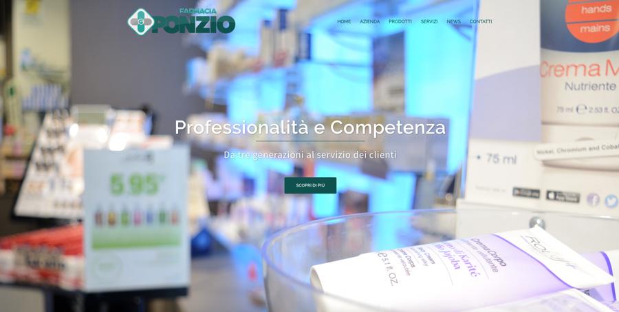 Farmacia Ponzio web